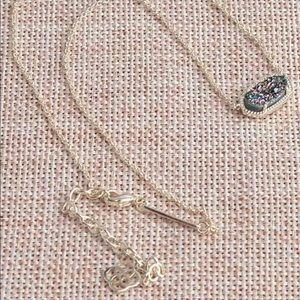 Kendra Scott Elisa necklace Multi Drusy